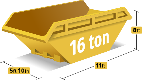 16 Tonne Skip Hire