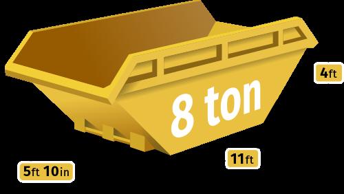 8 Tonne Skip Hire